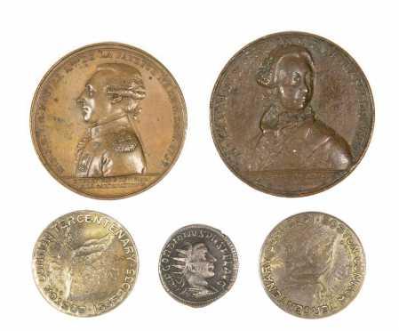 Lot of 5 Medallions