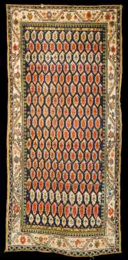 Antique Kurd Caucasian Runner