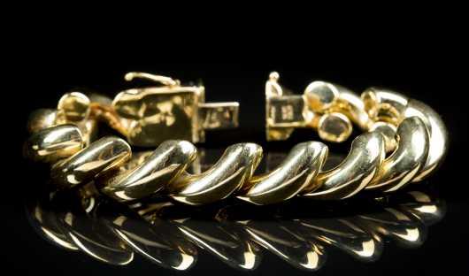 14kt. Italian Gold Bracelet