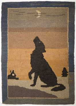 Grenfell Labrador Industries Pictoral Hooked Matt