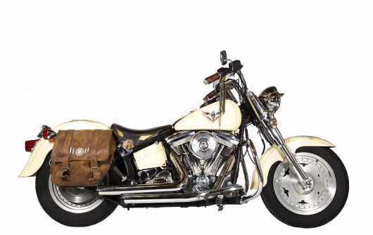 "1990 Harley Davidson ""Fat Boy"" Motorcycle"