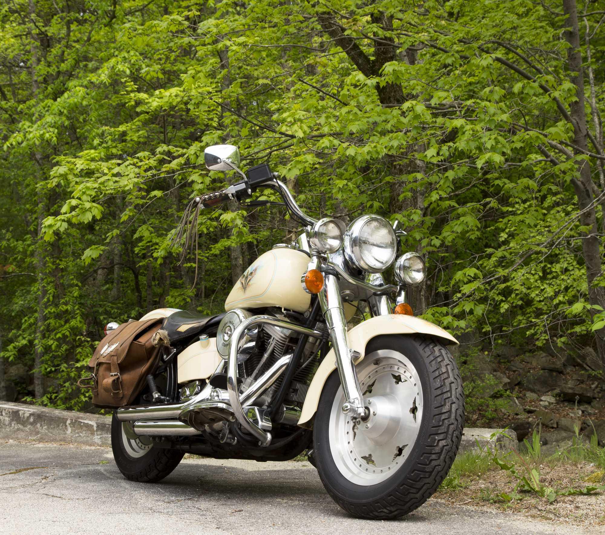 1990 Harley Davidson u0026quot;Fat Boyu0026quot; Motorcycle
