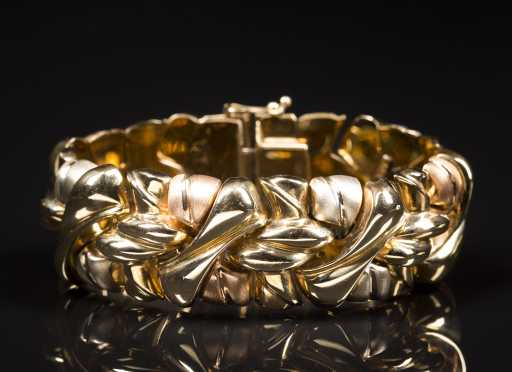 14kt. Two-Tone Gold Bracelet