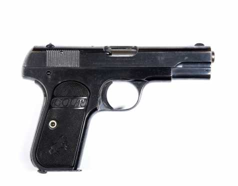 Colt Automatic (1903 Pocket) Hammerless Type III Single Action Pistol