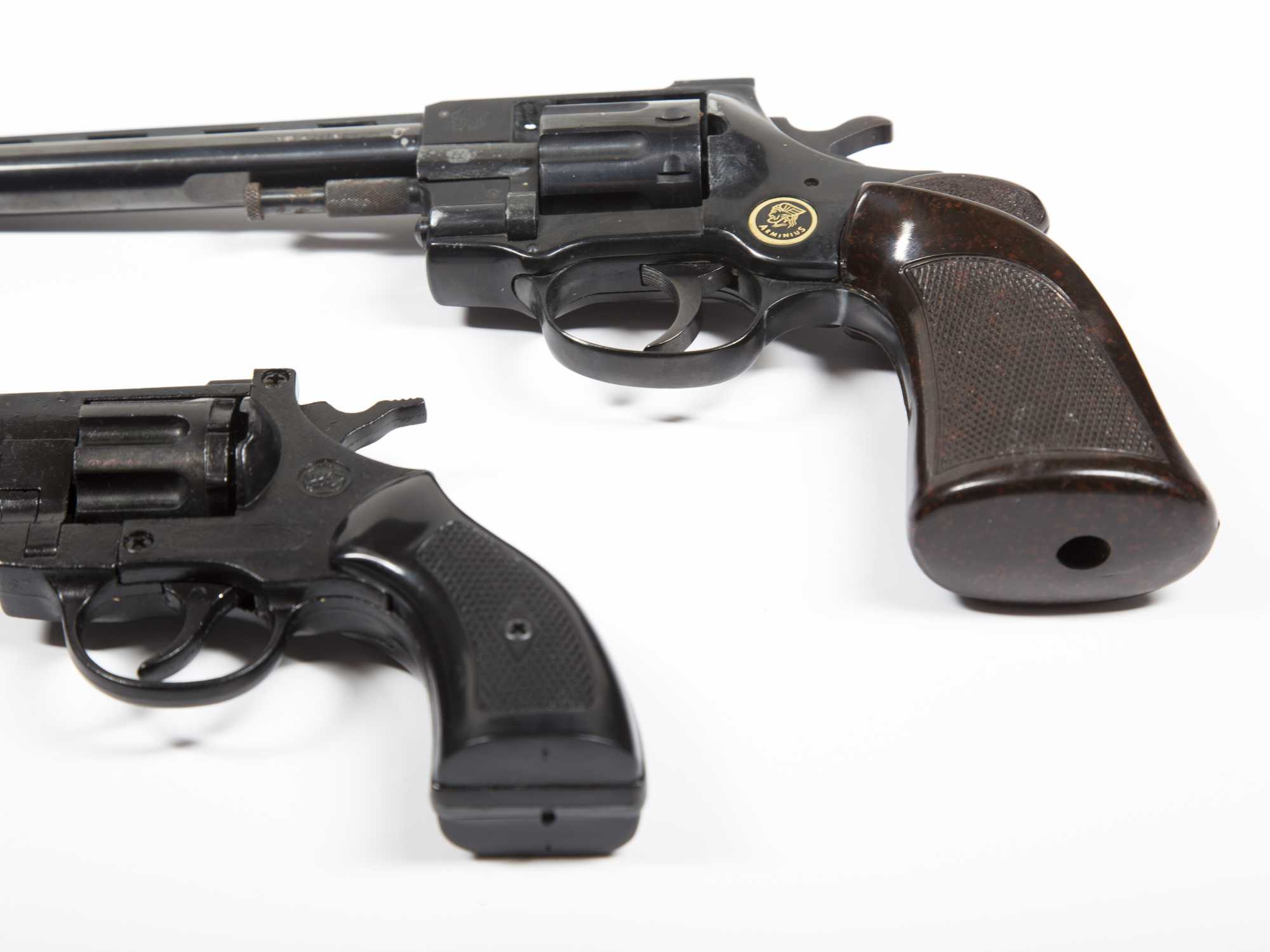 Lot of Two: BBM Double Action Starter Pistol in 22 Blank Cal 8 Round
