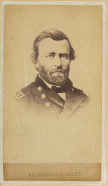 Ulysses S Grant Photo Cabinet Card