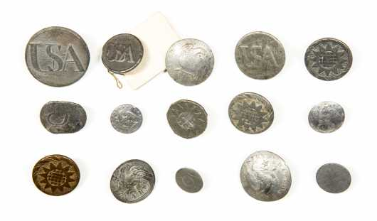 Pre-Civil War Era Buttons