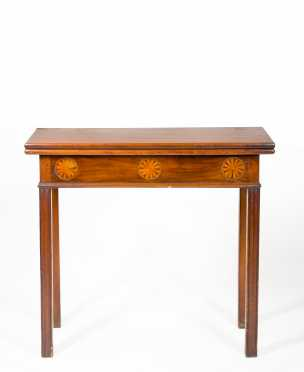 Mahogany Chippendale Card Table