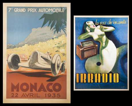Two Iconic Early 20th Century Posters, later editions.