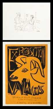Pablo Picasso. 2 Lithographs
