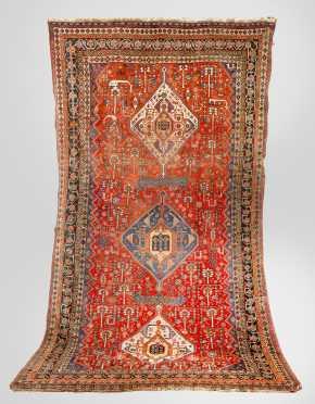 Tekke/Caucasian Scatter Oriental Rug