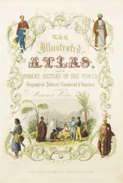 Tallis's Illustrated Atlas Title Page