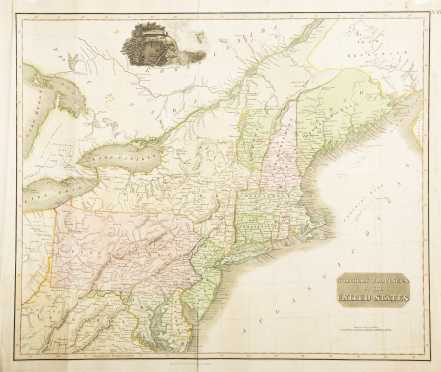Thomson, John. Northern Provinces of the United States. 1817