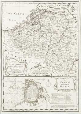 "Bowen, Eman. ""A New and Accurate map of the Netherlands or Low Countries.."""