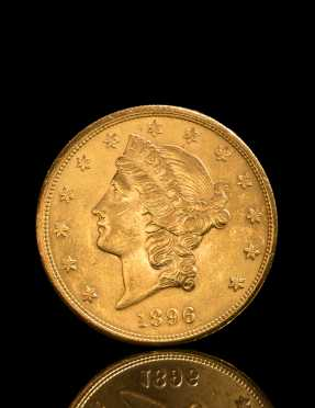 20 Dollar Liberty Head Double Eagle Gold Coin