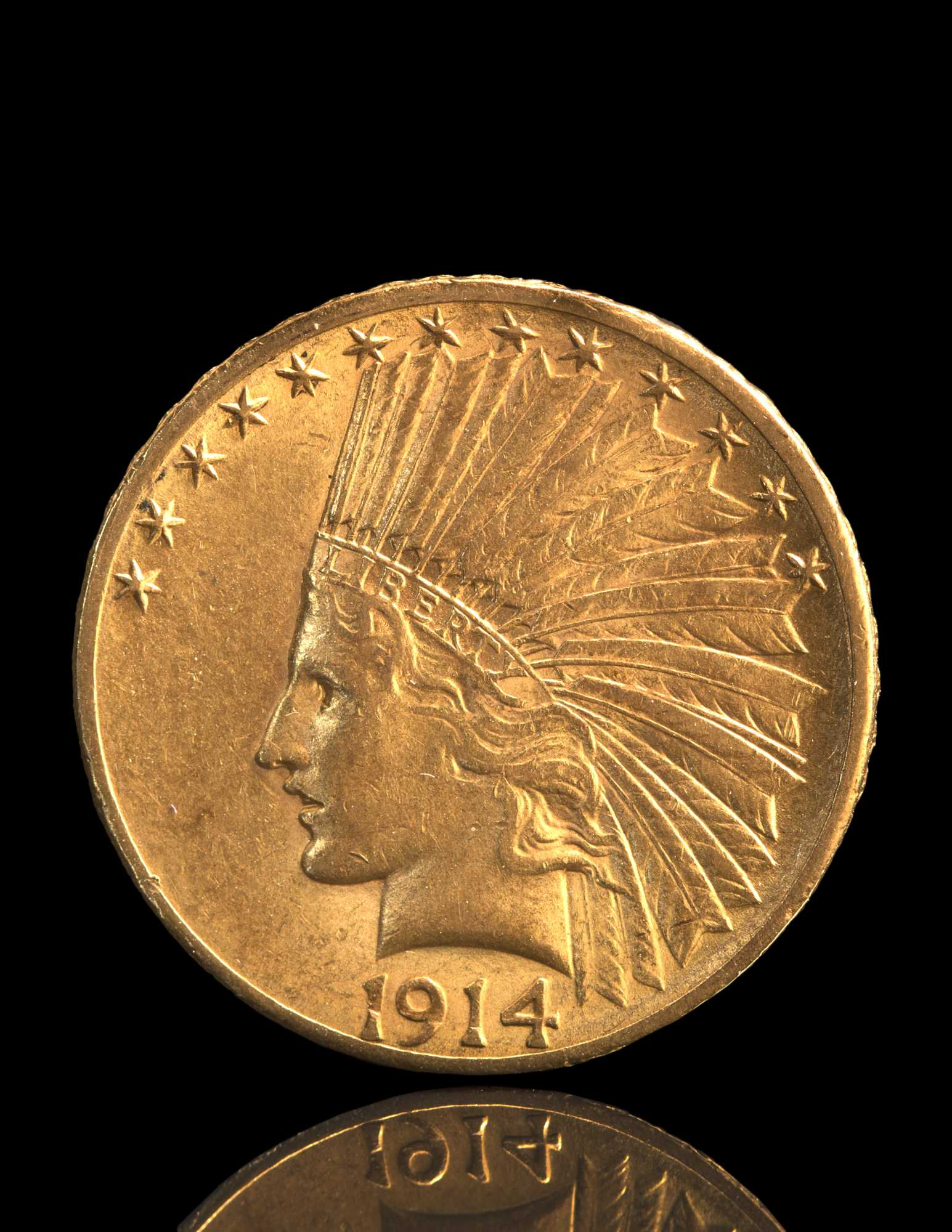 10 Gold Smoky Eye Tutorials For Fall: 10 Dollar Indian Head Eagle Gold Coin