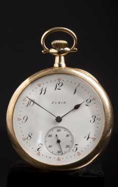 Elgin 14kt. Gold Pocket Watch