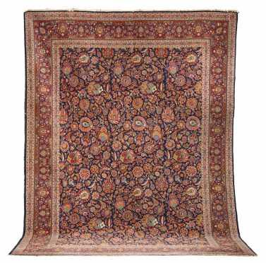 Sarouk/Kashan Room Size Oriental Rug