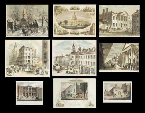 Historic Prints of Philadelphia