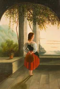 Primitive Oil on Canvas