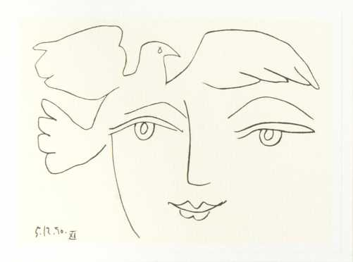Henri Matisse, French (1869-1954) Lithograph