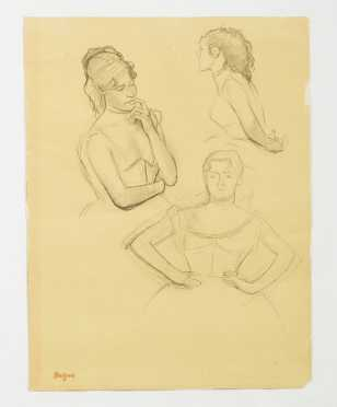 Edgar Degas, French (1834-1907) Collotype