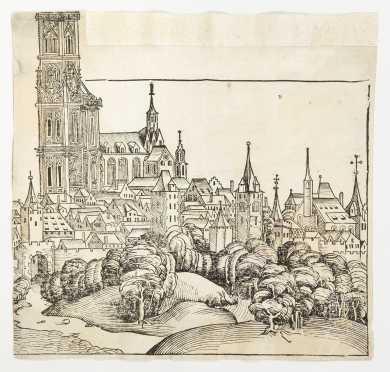 Michael Walgemut, German (1434-1519) Woodcut