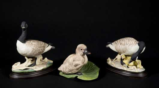 Three Boehm Porcelain Birds