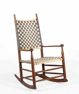 Shaker Rocking Arm Chair