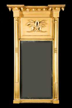 Federal Gilded Tablet MIrror