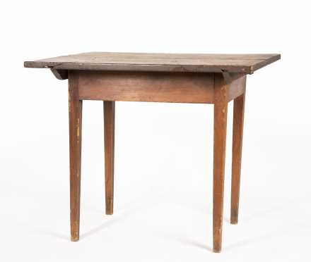 A Tapered Tip Top Tavern Table