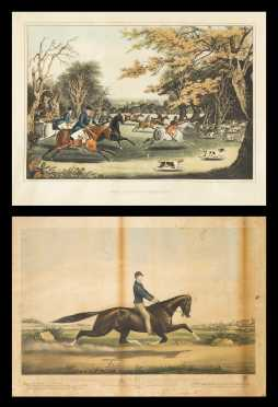 A Currier & Ives and a Hunt Print