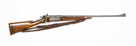 Sporterized Model 1898 Krag Johnson made by Springfield Armory in.30-40 krag, serial #425435
