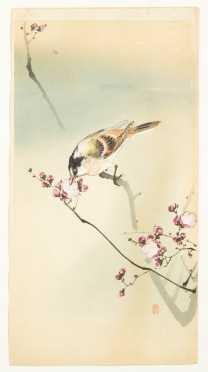 Ohara Koson, (1877-1945) Color Woodblock Print