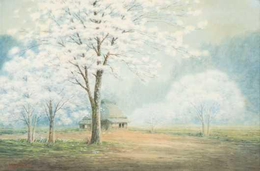 Shumin, Asian 20thC, Watercolor