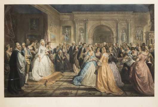 """""""Lady Washington's Reception"""""""