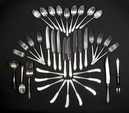Sterling Silver Flatware Set by Towle