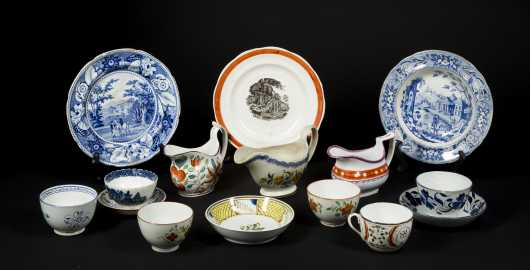 Collection of Soft Paste China