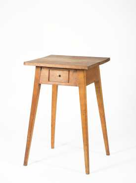 Cherry Four Way Splay Tapered Leg Stand