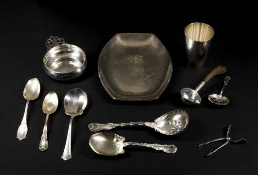 Sterling Silver Serving Spoons and More