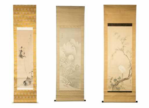 Japanese Hanging Scrolls (3)