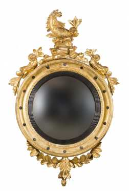 American or English Girandole Mirror