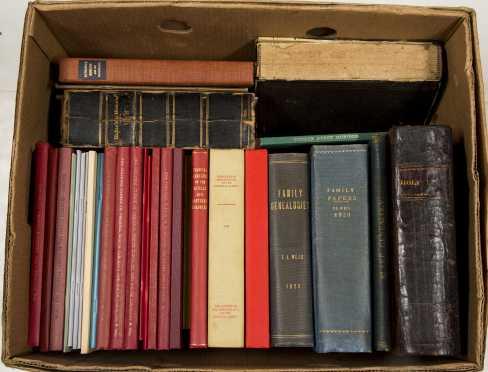 """Genealogy. """"Genealogy of the Wyman Family"""""""