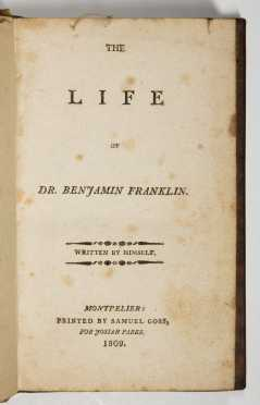 The Life of Dr. Benjamin Franklin