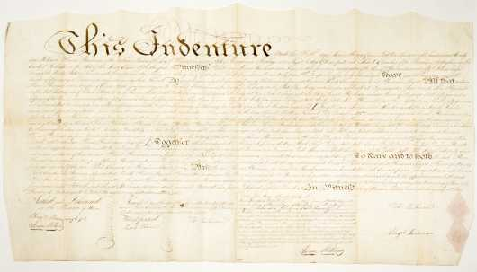 1826 PA/NJ Land Indenture