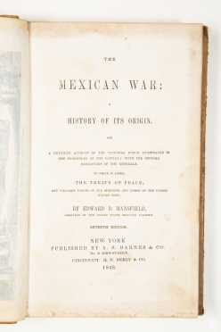 Mansfield, The Mexican War