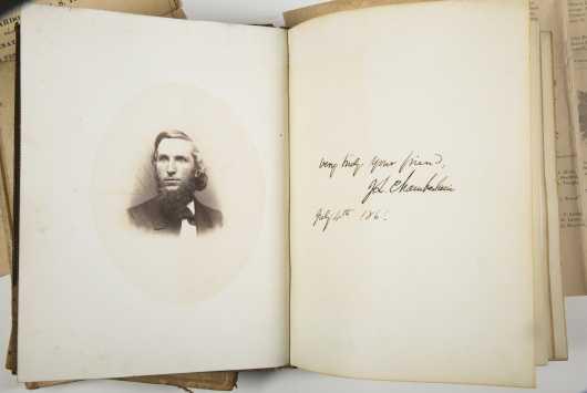 Joshua Chamberlain - Bowdoin College Archive - Class of 1861