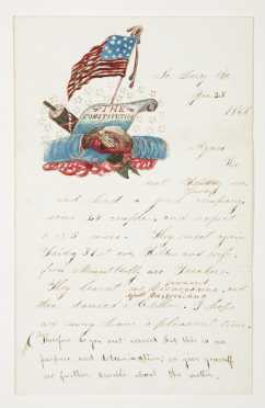 1869 Illustrated Letter