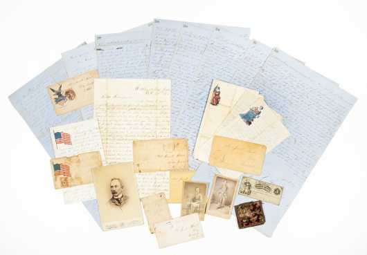 Civil War Archive - 7th PA Cavalry -- 70+ letters and ephemera