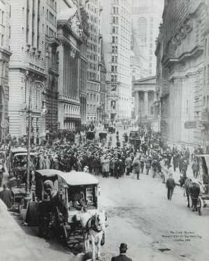 1908 Wall Street Photo